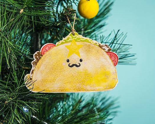 Christmas Taco Decoration