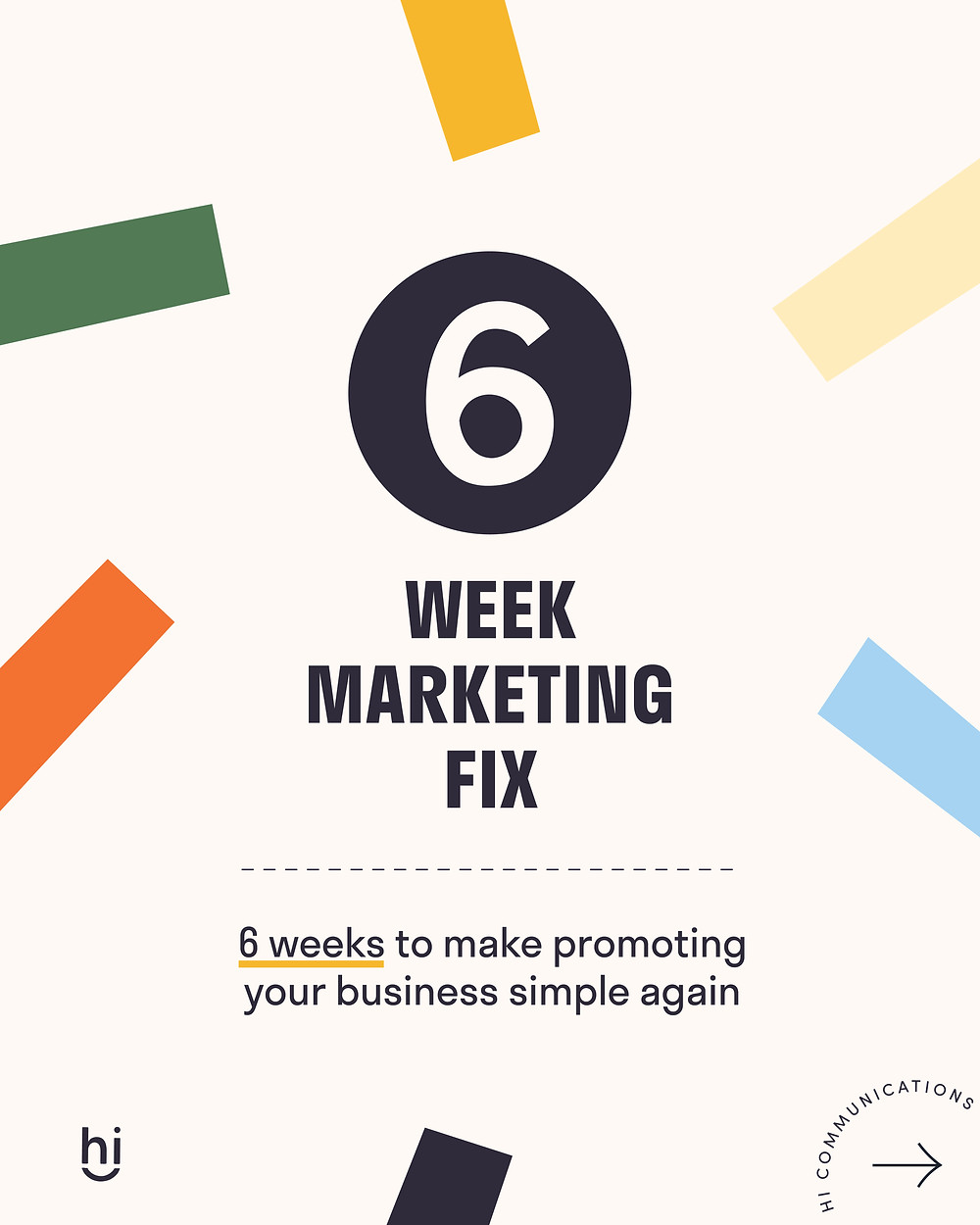 The Six Week Marketing Fix by Hannah Isted