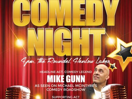 Comedy Night September 2016