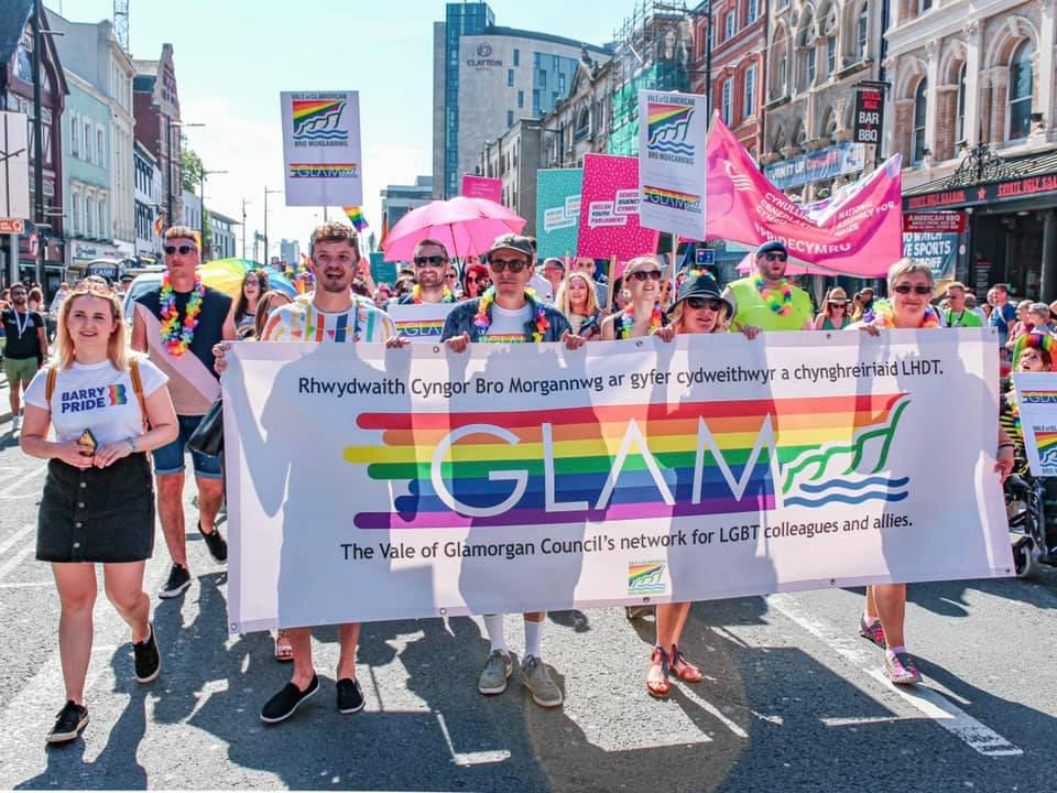 Barry Pride at Pride Cymru Cardiff Pride 2019