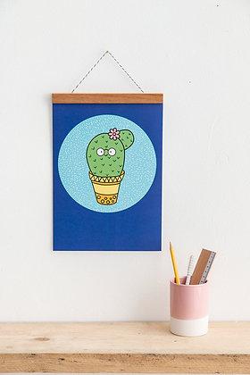 Cactus Wall Print