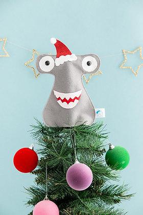 Shark Christmas Tree Topper