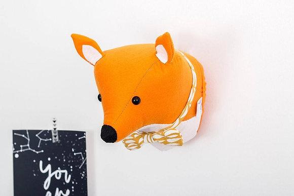 Fox Felt Animal Head