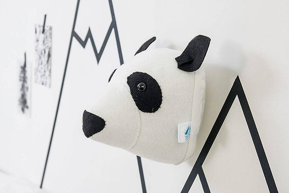 Felt Panda Animal Head