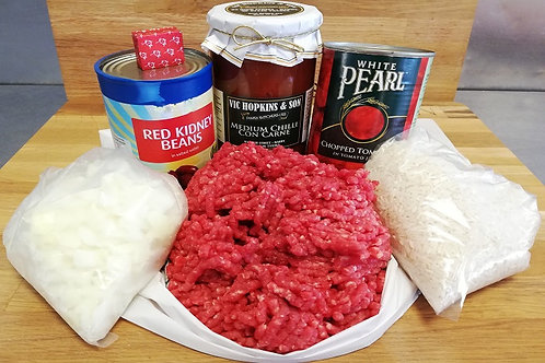 Beef Chilli Meal Pack
