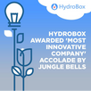 "Hydrobox ""Bell"" rung at Euronext Bel-20 ceremony"