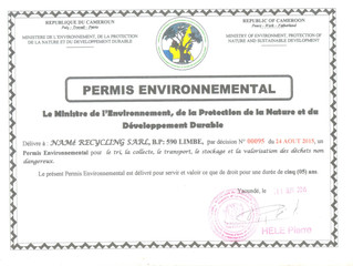 NAMé Recycling obtains an environmental license for the collection, sorting, storage and treatment o