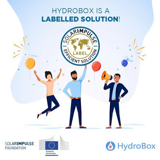 Hydrobox is thrilled to be part of the profitable #1000solutions protecting the environment