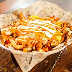 Buffalo fries with cheese