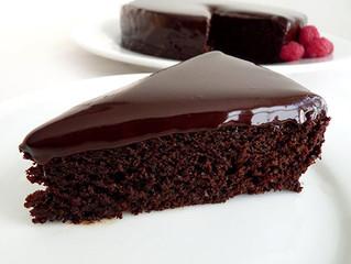 Pessach: Bolo Sem Farinha e Cobertura de Chocolate - PARVE