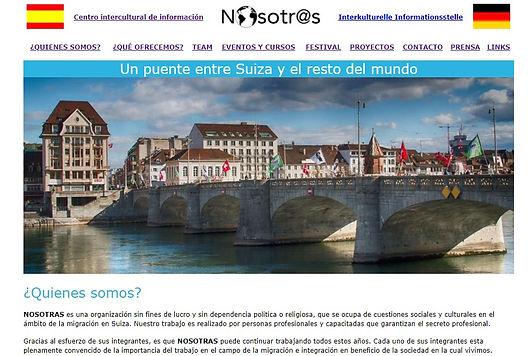 portada de la web nosotrasbasel.org