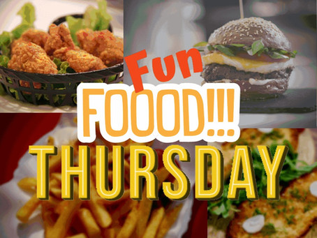 Fun Food Thursday: September 23rd