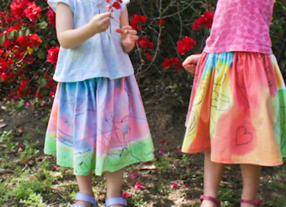 FUN FRIDAY Design Your Own Skirt for Kids