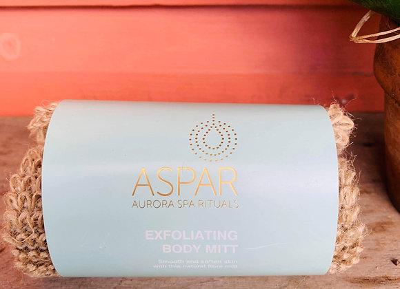 Aspar Exfoliating Body Mitt