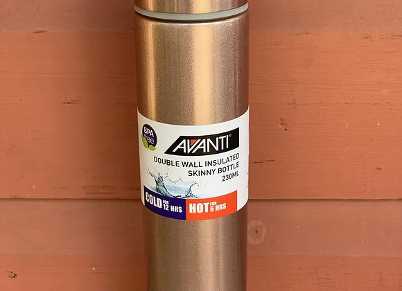 Avanti double wall insulated skinny bottle