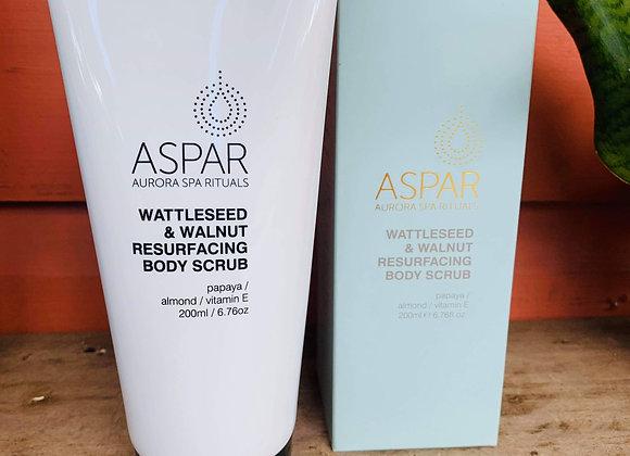 Aspar Wattleseed & Walnut Resurfacing Body Scrub