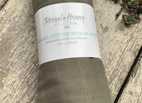 Snuggle Honey muslin wrap