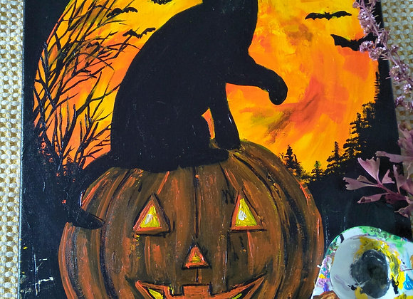 Hallowean Paint and Sip Friday 29th October