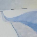 FieldTrench in Snow
