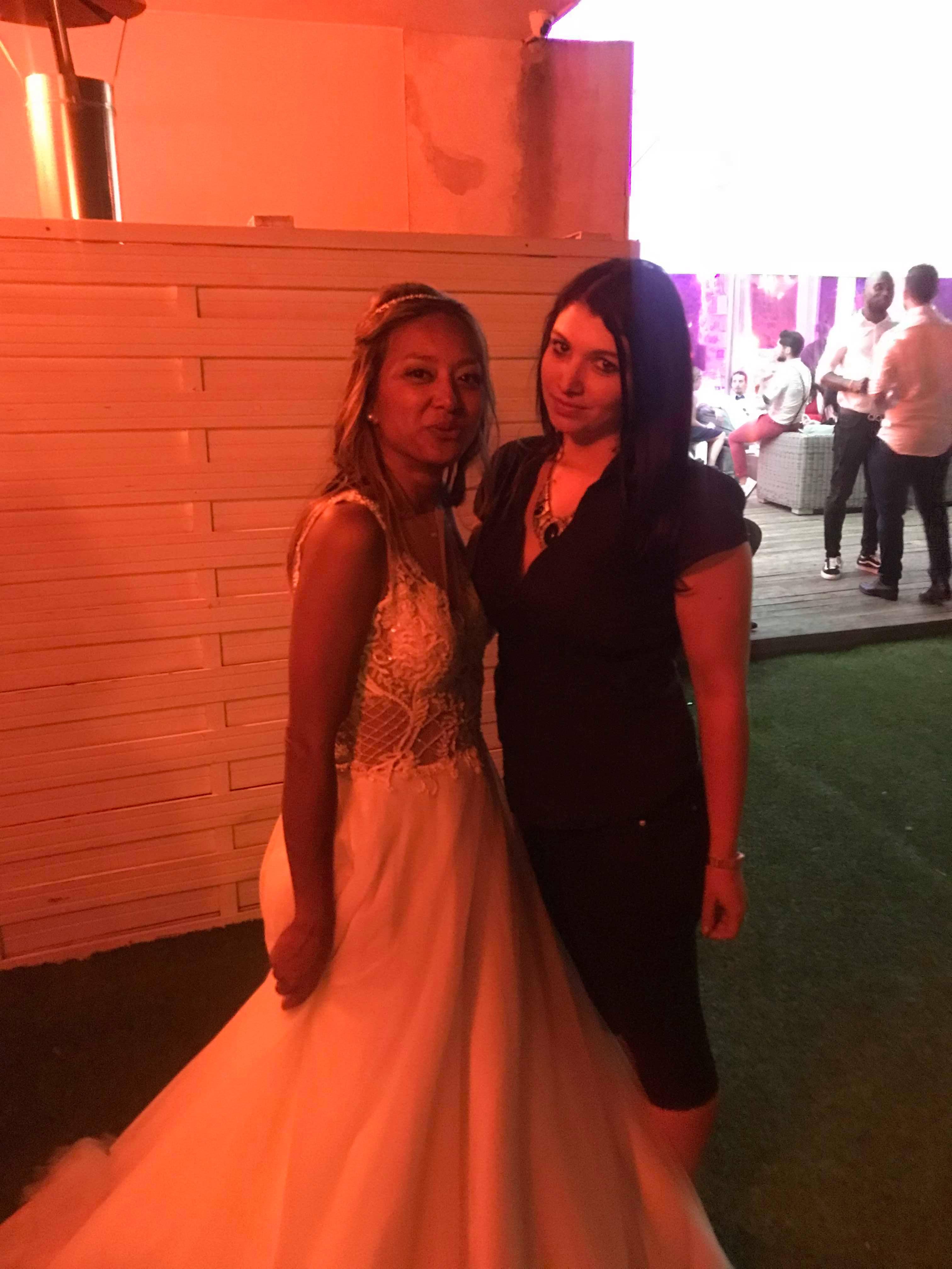 Wedding P avec la mariée