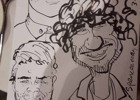 Caricaturist Hire