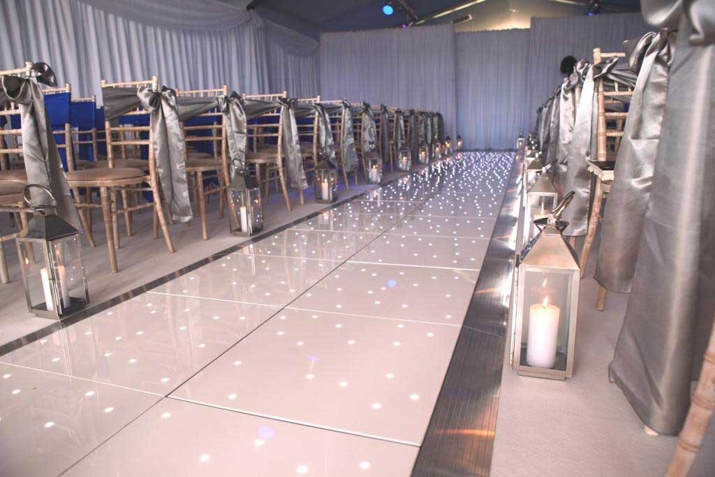Starlit Wedding Aisle Runner Hire