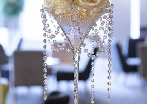 Table Centrepiece Hire around the North West, Lancashire and Cheshire
