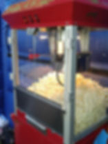 Popcorn Machine Hire around the North West, Lancashire and Cheshire