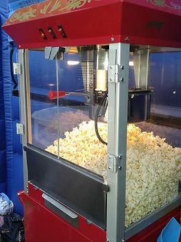 Popcorn Machine Hire around the North West, Lancashire and Cheshire