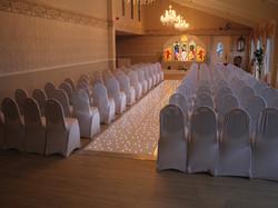 Starlit Wedding Aisle Runner Hire
