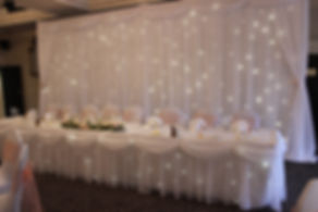 Starlit Backdrop and Draping Hire around the North West, Lancashire and Cheshire