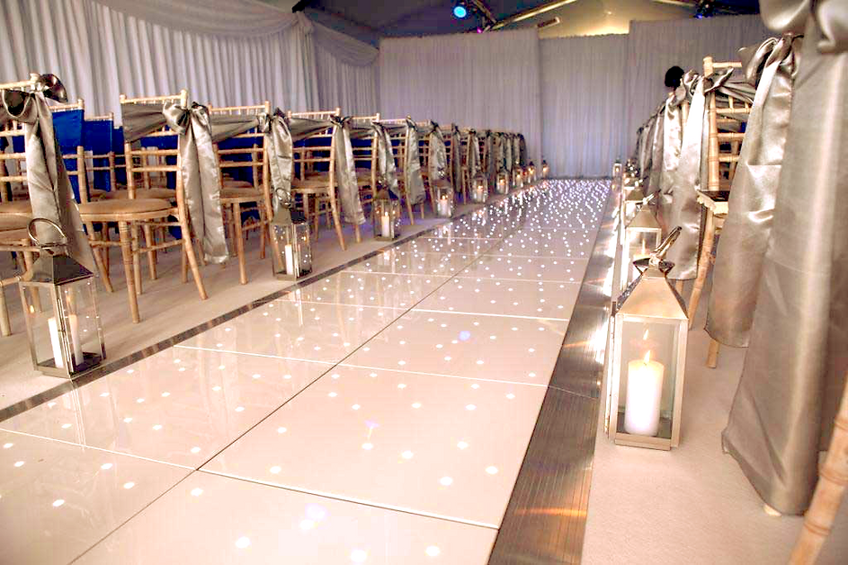 LED Starit Aisle Hire