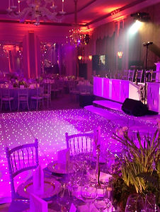 LED Starlit Dancefloor Hire around the North West, Lancashire and Cheshire