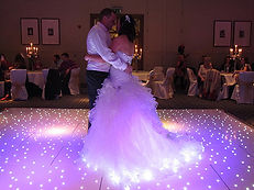 LED Starlit Dancefloor Hire around the North West, Cheshire and More