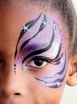 Face Painting & Glitter Tattoo Hire around the North West, Lancashire and Cheshire