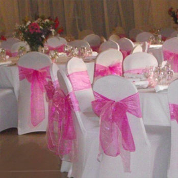 Chair covers are perfect to make your venue look extra special. Be it your wedding day, christening, birthday or awards night. They also include any colour sash you require! Covering all around the UK including the north west, cheshire and Lancashire!