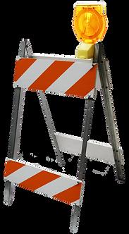 Type-II A-Frame Barricade