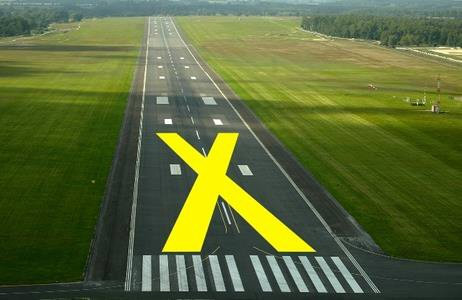 Airport Runway or Taxiway Closure Marker