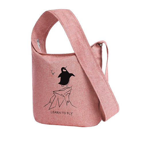 Recycled Shoulder Bag Brick - Pinguino