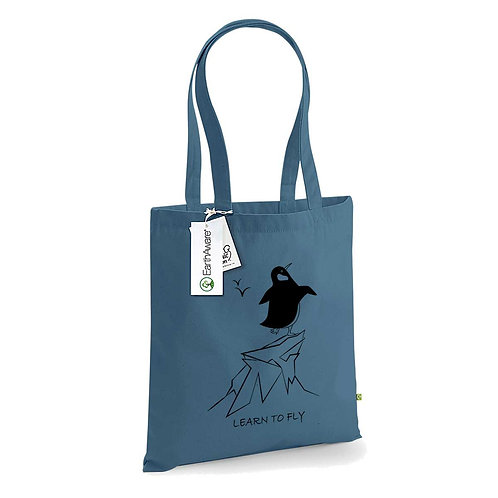 Organic Shopper Airforce Blue - Pinguino