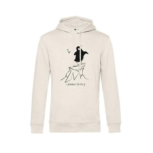 Organic Hoodie Natural - Pinguino