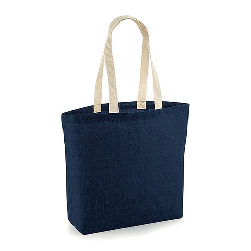 Juta Shopping Bag Navy / Natural