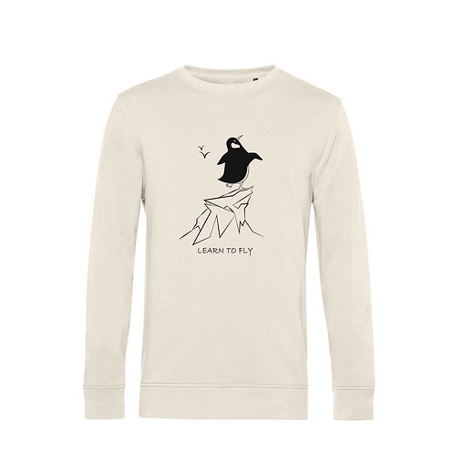 Organic Sweatshirt Natural - Pinguino