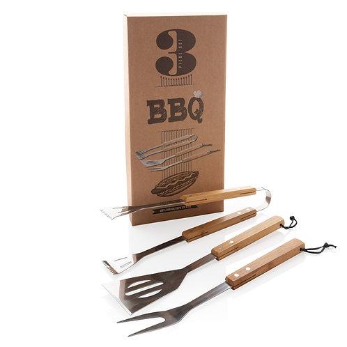 Set Barbecue Bamboo
