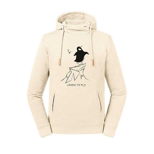 Organic Hoodie Sughero Natural - Pinguino