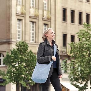 Recycled Shoulder Bag Ambientata