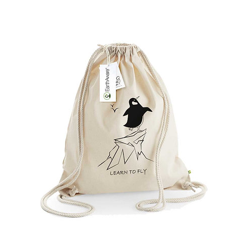 Organic Gymsac Natural - Pinguino