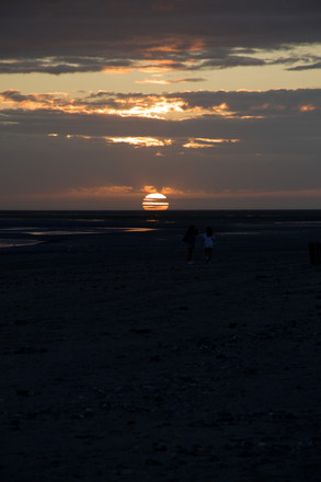 Le Crotoy au coucher / Sunset in Le Crotoy_1