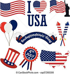 4th-july-icons-vector-clipart_csp5726530