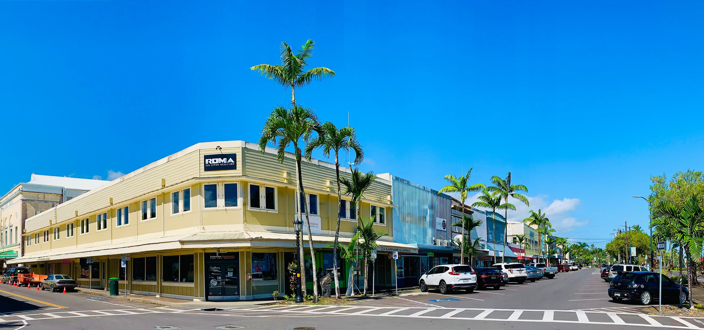 Our office builing is located on the Hilo Bay with plenty of parking!